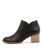 SCURRY BLACK LEATHER