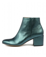 PAREE TEAL METALLIC LEATHER