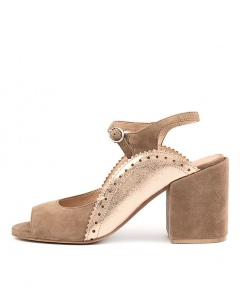 KERNEL LT TAUPE ROSE GOLD SUEDE POP LEATHER