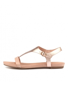 JANGLE NUDE ROSE GOLD LEATHER