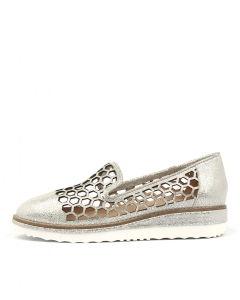 NEILSON SILVER CRACKLE LEATHER