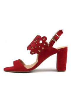 TENDERS RED SUEDE