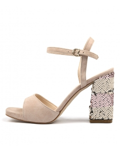 PEGGY PINK SUEDE