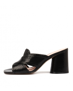 NOLLY BLACK EMB LEATHER