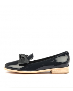 ALANE NAVY PATENT LEATHER