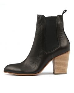 HIGHER BLACK NATURAL HEEL LEATHER