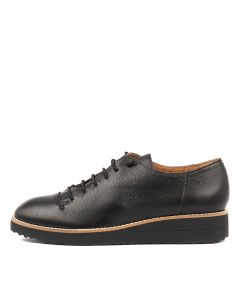 OPHIA BLACK BLACK SOLE LEATHER