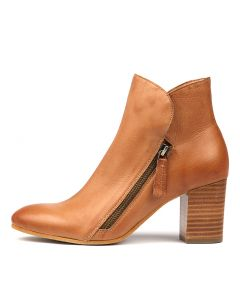 UPTHERE DK TAN LEATHER
