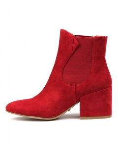 BENGY RED SUEDE