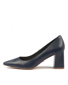 ROSAR NAVY LEATHER