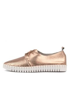 HUSTO ROSE GOLD LEATHER