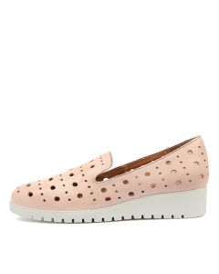 NICHOLA PALE PINK LEATHER