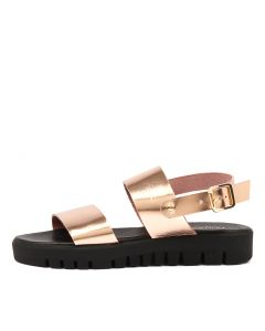LOULA ROSE GOLD LEATHER