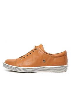 DELANY DK TAN LEATHER