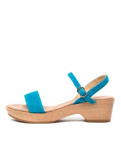 MARLISSA TURQUOISE SUEDE
