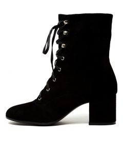 NUTBUSH BLACK SUEDE
